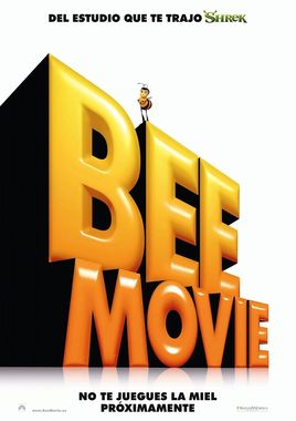"Cartel ""Bee Movie"" teaser español"