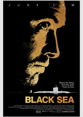 "Cartel ""Black Sea"" inglés"