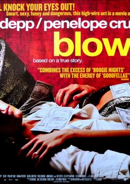 "Cartel ""Blow"" inglés"