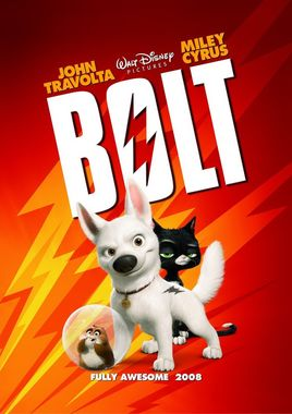 "Cartel de ""Bolt"" norteamericano"