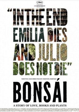 """Cartel """"Bonsái"""" norteamericano"""