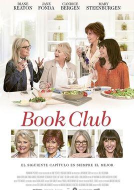 Cartel oficial en español de: Book Club