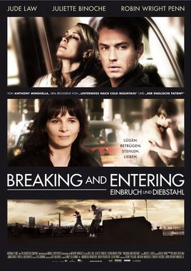 """Cartel """"Breaking and Entering"""" alemán"""