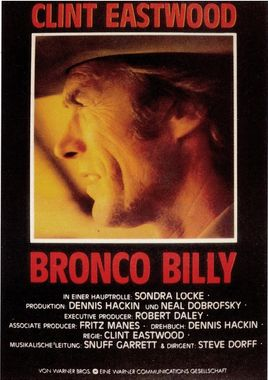 "Cartel ""Bronco Billy"" alemán"