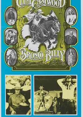"Cartel ""Bronco Billy"" australiano"