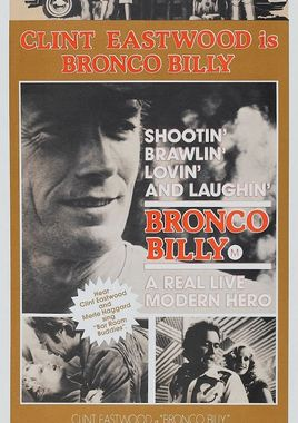 "Cartel ""Bronco Billy"" australiano 2"