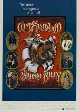 "Cartel ""Bronco Billy"" norteamericano 2"