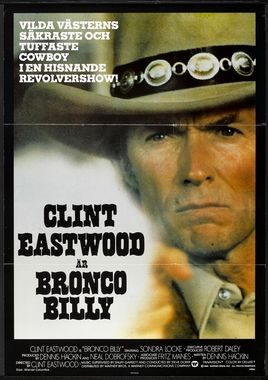 "Cartel ""Bronco Billy"" sueco"