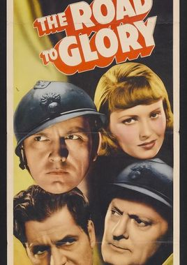 """Cartel """"Camino a la gloria (1936)"""" norteamericano 2"""