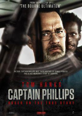 "Cartel Teaser ""Capitán Phillips"" norteamericano"