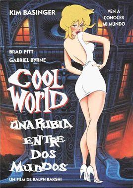 "Cartel teaser de ""Cool World (Una rubia entre dos mundos)"" español"