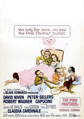 Cartel de La pantera rosa norteamericano 2