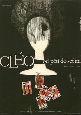 "Cartel ""Cleo de 5 a 7"" checo"