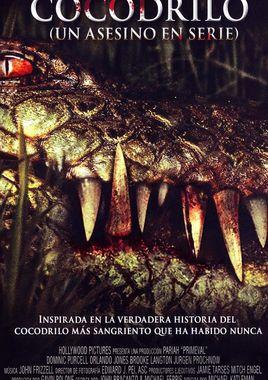 Cartel oficial en español de: Cocodrilo, un asesino en serie