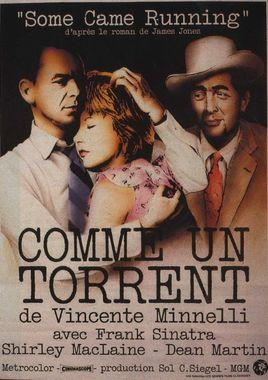 "Cartel ""Como un torrente"" francés"