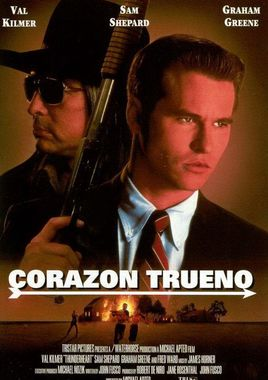 """Cartel de """"Corazón trueno"""" español 2"""