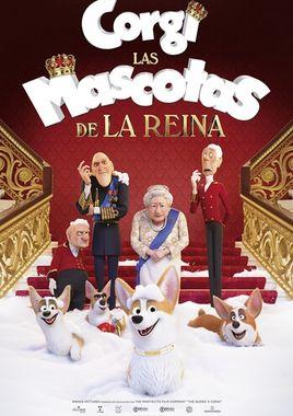 Cartel oficial en español de: Corgi: Las mascotas de la reina