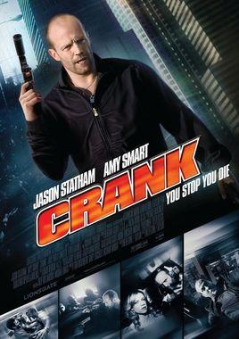 """Cartel de """"Crank: Veneno en la sangre"""" norteamericano 3"""