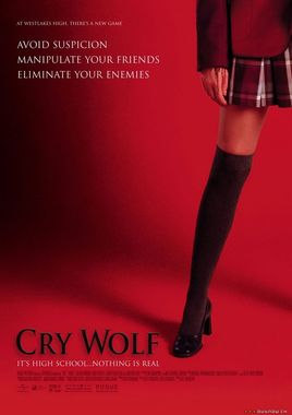 "Cartel ""Cry Wolfr"" norteamericano"