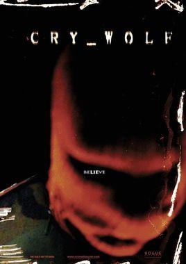 "Cartel teaser ""Cry Wolfr"" norteamericano"