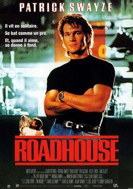 "Cartel ""Road House (De profesión: duro)"" francés"