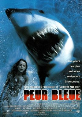 "Cartel de ""Deep Blue Sea"" francés"