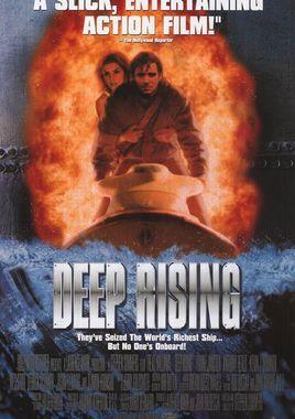 """Cartel """"Deep Rising (El Misterio de las profundidades)"""" norteamericano 3"""