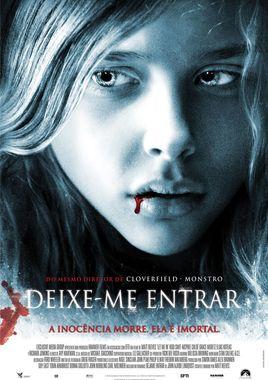 """Cartel """"Déjame entrar (Let me in)"""" brasileño"""