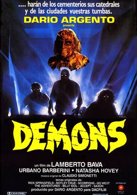 Cartel oficial en español de: Demons