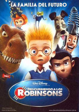 """Cartel de """"Descubriendo a los Robinsons"""" español 1"""