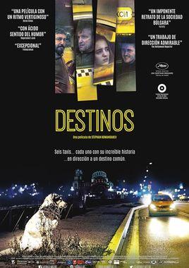 Cartel oficial en español de: Destinos