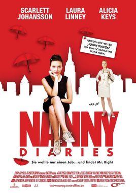 """Cartel """"Diario de una niñera (The Nanny Diaries)"""" alemán"""