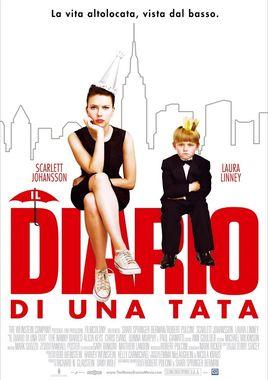 "Cartel ""Diario de una niñera (The Nanny Diaries)"" italiano"