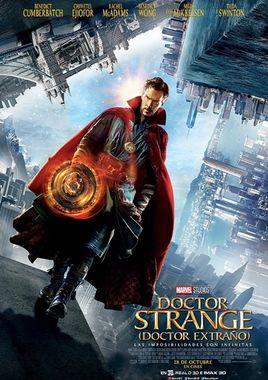 Cartel oficial en español de: Doctor Strange (Doctor Extraño)