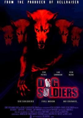 "Cartel ""Dog Soldiers"" inglés"