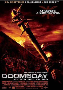 Cartel oficial en español de: Doomsday: El día del juicio