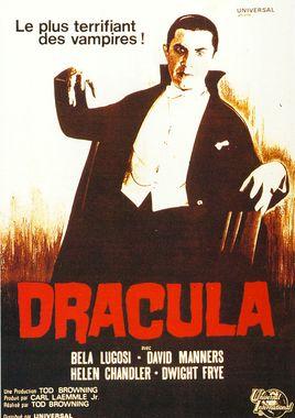 "Cartel ""Drácula (1931)"" francés"