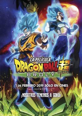 Cartel oficial en español de: Dragon Ball Super: Broly