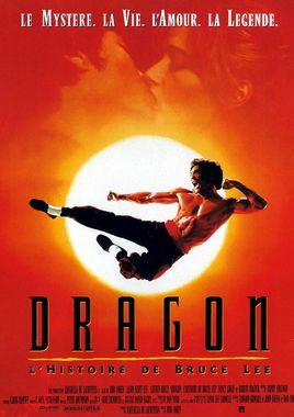 "Cartel de ""Dragon, la vida de Bruce Lee"" francés"