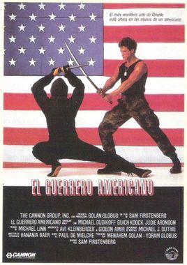 Cartel oficial en español de: El guerrero americano