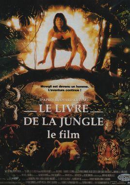 """Cartel """"El libro de la selva: la aventura continúa"""" francés"""