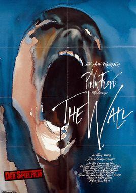 """Cartel """"El Muro (Pink Floyd: El muro)"""" alemán"""