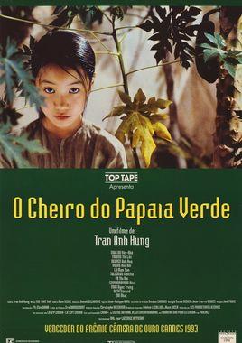 """Cartel """"El olor de la papaya verde"""" brasileño"""