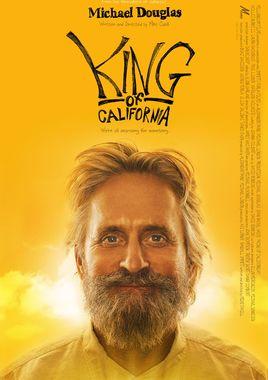"""Cartel de """"El rey de California"""" norteamericano 2"""