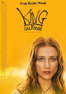 """Cartel de """"El rey de California"""" norteamericano 3"""