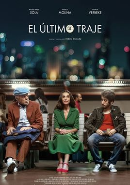 Cartel oficial en español de: El último traje