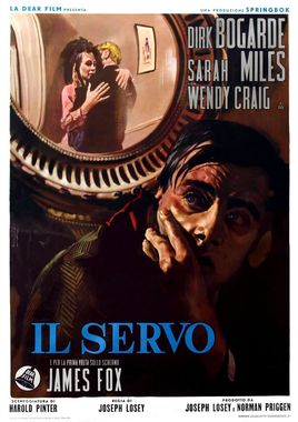 "Cartel ""El sirviente"" italiano"