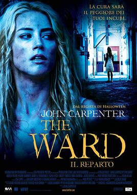 "Cartel ""Encerrada (The Ward)"" italiano"
