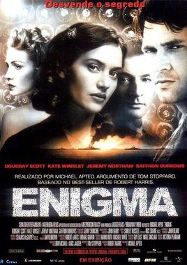 "Cartel ""Enigma"" portugués"