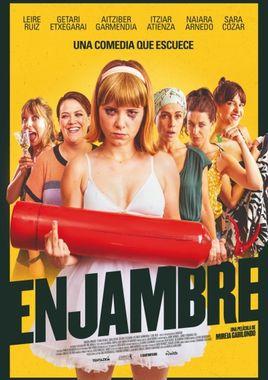 Cartel oficial en español de: Enjambre